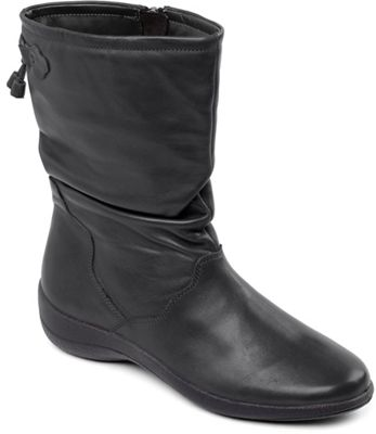 Page-20 Tan Fashion Mid-Calf Slouch Zipper Buckle High Heel Boots-7