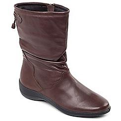 Padders - Brown 'Regan' calf boot