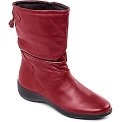 Padders - Wine 'Regan' calf boot