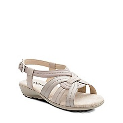 Padders - Natural 'Pandora' womens leather sandals