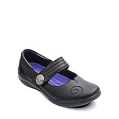 Padders - Black 'Poem' womens mary jane shoes