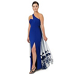 Ariella London - Royal blue 'Lexi' one shoulder dress