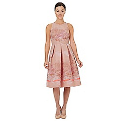Ariella London - Pale pink jacquard 'Caleb' prom dress