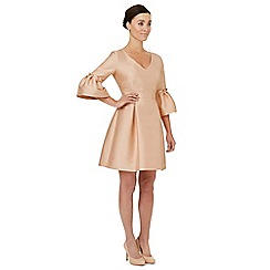 Ariella London - Pale pink 'Zaza' puff sleeves dress