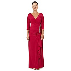 Ariella London - Dark pink jersey 'Gomez' evening dress