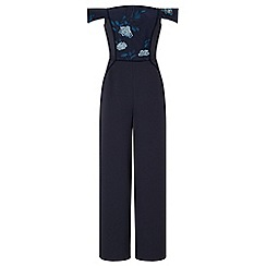 Ariella London - Navy 'Danae' strapless jumpsuit