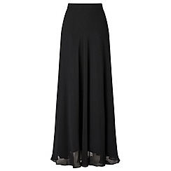 Ariella London - Black 'Danny' chiffon maxi skirt