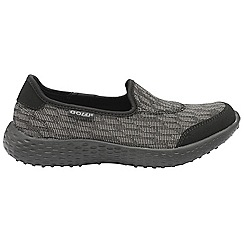 Gola - Black/Grey 'San Luis' ladies slip on trainers