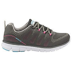Gola - Grey/Pink 'Tempe' ladies lace up trainers