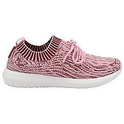 Gola - Pink/white 'Evolve' ladies lace up sports trainers