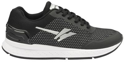 Gola Sport - Black & white 'Major' ladies lace up sports trainers
