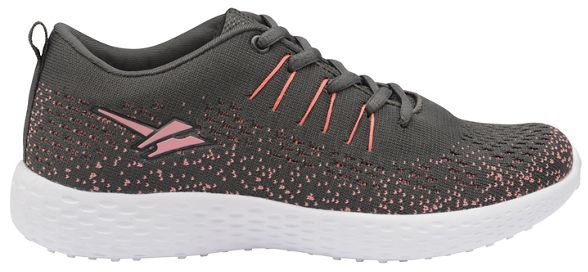 trainers pink Gola ladies Charcoal up 'Saint' lace and Sport n8US7q8x