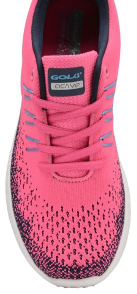 and Pink trainers blue ladies up 'Saint' Sport sports Gola lace ZqCTC