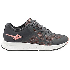 Gola - Grey/Pink 'Triton 2' ladies fitness trainers