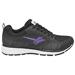 Gola Sport - Grey and purple 'Fortuna' ladies sports trainers