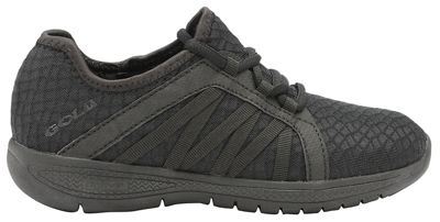 Gola Sport - Black 'G-fit' ladies lace up fitness trainers