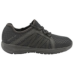 Gola - Black 'G-fit' ladies lace up fitness trainers