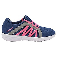 Gola - Navy/Pink 'G-fit' ladies lace up fitness trainers