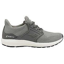 Gola - Grey 'X-pand Fly' ladies lace up sports trainers