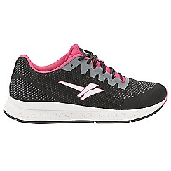 Gola - Black/Fuchsia 'Zenith 2' ladies sports trainers