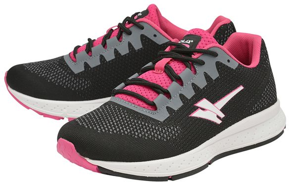 'Zenith Sport sports ladies trainers Gola Black Fuchsia 2' and FIxz71dqw1