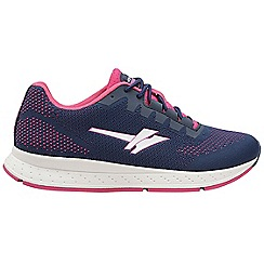 Gola Sport - Navy and fuchsia 'Zenith 2' ladies sports trainers