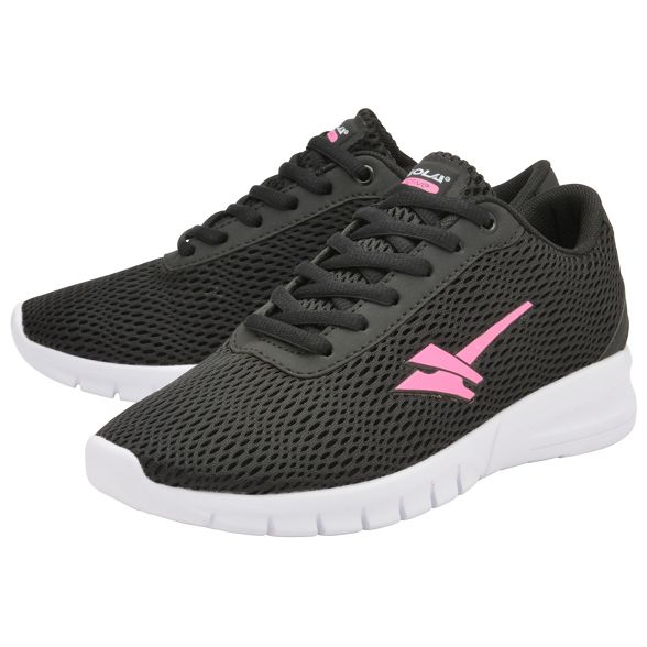 6dbd3e090c93 ... and lace Gola trainers pink Sport Black 2  up  Beta ladies q00OExH ...
