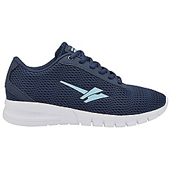 Gola Sport - Navy and blue 'Beta 2' ladies lace up trainers