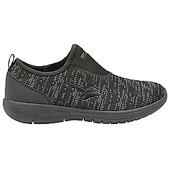 Gola Sport - Black 'Felix' ladies slip on sports trainers
