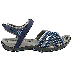 Gola - Navy blue 'Safed' ladies slip on sandals