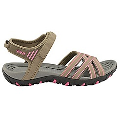 Gola - Taupe 'Safed' ladies slip on sandals