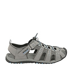 Gola - Grey and Teal 'Shingle 3' ladies outdoor sandals