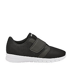 Gola Sport - Black and White 'Oscar Qf' Mens Wide Fit Trainers