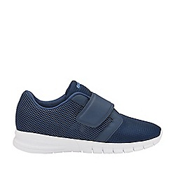 Gola Sport - Navy and White 'Oscar Qf' Mens Wide Fit Trainers