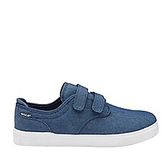 Gola Sport - Navy and White 'Panama Qf' Mens Wide Fit Trainers