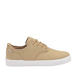 Gola Sport - Taupe and White 'Panama' Mens Wide Fit Trainers