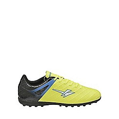 Gola - Volt/black/blue 'Talos Vx' mens lace up trainers