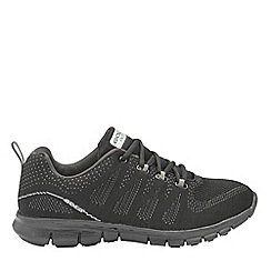 Gola Sport - Black 'Tempe' mens lace up sports trainers