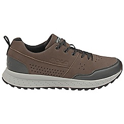 Gola - Brown/black 'Glarus' mens lace up trainers