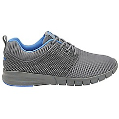 Gola - Grey/blue 'Angelo' mens lace up trainers