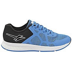 Gola - Blue/Black 'Triton 2' men's lace up sports trainers