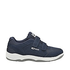 Gola Sport - Navy 'Belmont suede wf' mens velcro trainers