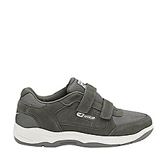 Gola Sport - Charcoal 'Belmont suede wf' mens velcro trainers