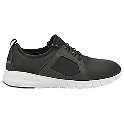 Gola - Black & white 'Jovian' mens lace up trainers