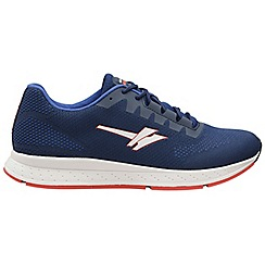 Gola Sport - Navy and blue and red 'Zenith 2' mens sport trainers
