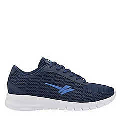 Gola Sport - Navy and blue 'Beta 2' mens lace up trainers