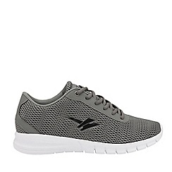 Gola Sport - Grey and Black 'Beta 2' Mens Lace Up Trainers