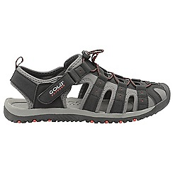 Gola - Black & Red 'Shingle 3' mens sports sandals
