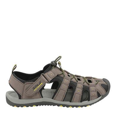 Gola Sport - Brown/black/sun 'Shingle 3' mens sandals