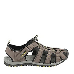Gola - Brown/black/sun 'Shingle 3' mens sandals